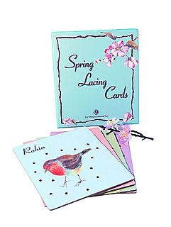 Spring lacing